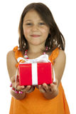 Speciale gift voor u Royalty-vrije Stock Afbeeldingen