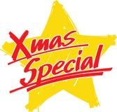 Speciale Kerstmis van de ster Stock Afbeeldingen
