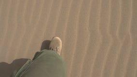 Speciale Krachten in de Woestijn stock video