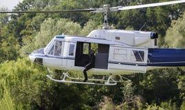 Speciale krachten in helikopter Royalty-vrije Stock Afbeelding