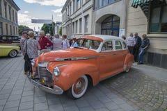 1941 Speciale Luxe 4 Deursedan van Chevrolet Stock Afbeelding
