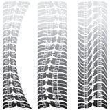 specialgummihjulspår stock illustrationer