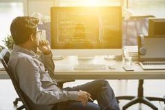 IT specialist stock afbeeldingen