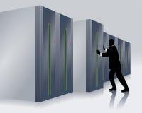 IT specialist Stock Photo