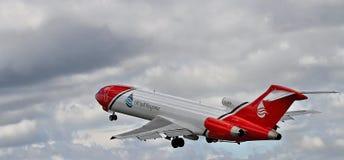 Specialist Boeing 727 för oljeutsläpprengöringar Royaltyfri Fotografi