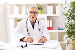 Specialist doctor otologist Stock Photos