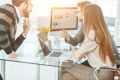 Specialist in Finance and business team doing analysis of marketing reports, Stock Photos