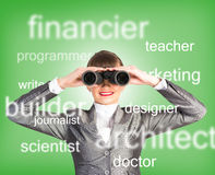 Specialist personnel looking for workers Royalty Free Stock Photography