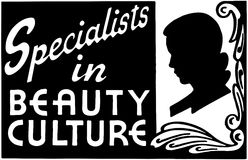 Specialists In Beauty Culture 2 Royalty Free Stock Photos