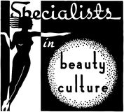 Specialists In Beauty Culture Royalty Free Stock Photos