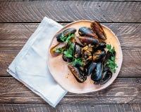 Specialità dei frutti di mare Immagine Stock