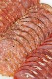 Specialità gastronomiche della carne Fotografia Stock