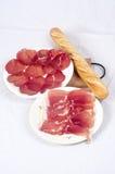 Specialità gastronomiche della carne Fotografie Stock Libere da Diritti