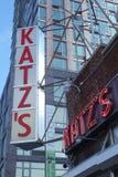 Specialità gastronomiche di Katzs Immagini Stock