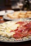 Specialità gastronomiche spagnole autentiche Fotografia Stock Libera da Diritti