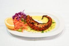 Specialiteit van gemarineerde octopus royalty-vrije stock foto's