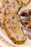 Specialiteten med feg lever och brödsmulor royaltyfri bild