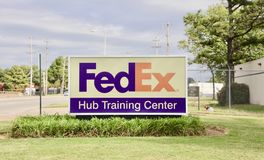 FedEx Hub Training Center. We specialize in same-day and overnight delivery of expedited freight. You can also receive truckload shipping solutions from FedEx Royalty Free Stock Photo