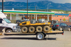 A specialized amphibian atv at whitehorse Stock Photos