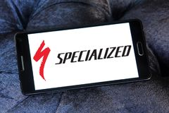 Specialized Bicycle Components logo. Logo of Specialized Bicycle Components on samsung mobile. Specialized is a United States based company that designs royalty free stock photos