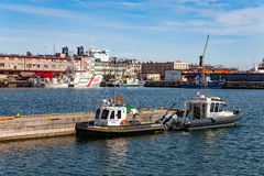 Specialized patrol boats Royalty Free Stock Image