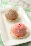 specialläckra mooncakes Royaltyfri Fotografi