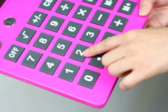 Specially calculator Royalty Free Stock Photos