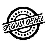 Specially Refined rubber stamp Stock Photography
