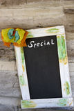 Specials board Stock Image