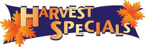 Specials da colheita Ilustração Stock