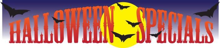 Specials de Halloween Ilustração Stock