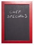 Specials do cozinheiro chefe Imagens de Stock Royalty Free