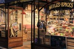 Specialty chocolate shop, Le Comptoir de Mathilde,Paris,France,2016 Royalty Free Stock Images