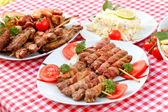 Specialty grilled - grilled meat Stock Photo