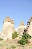 Speciel stone formation of cappadocia turkey Royalty Free Stock Photo
