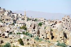 Speciel stone formation of cappadocia turkey Royalty Free Stock Image