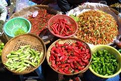 Species of pepper Stock Image