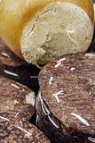 Specific cheese from Romania Royalty Free Stock Images