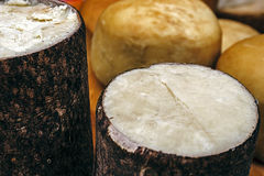 Specific cheese for Romania 3 Stock Photo