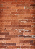 Specific red brickwork background. Indonesia. Stock Photography