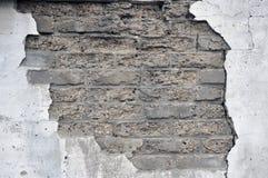 Specificera av den gammala tegelstenväggen Arkivbilder