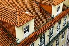 Specificera av en gammal byggnad royaltyfri bild