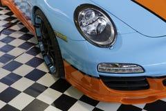 Porsche sportbil Arkivfoton