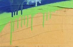 Specificera av grafitti Arkivfoton