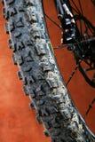 Specificera av mountainbiket Arkivbild