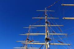 Specificera av några masts Royaltyfria Foton