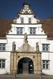 Specificera av porthus i Husum royaltyfria foton