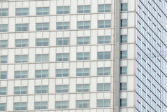 Specificera av skyskrapan Windows. Arkivfoto