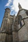 Domkyrka av Sanktt-Nazaire, Carcassonne royaltyfri foto