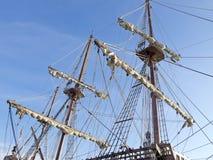 Specificera masts och repet Arkivfoton
